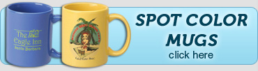 Spot Color Mugs